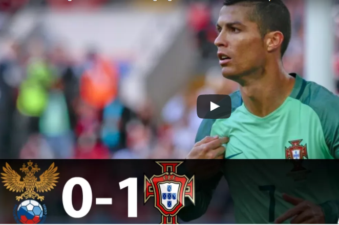 Video: Rolando's super goal help Portugal to win against ...